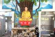Di dời tượng phật ở Hà Tiên - Kiên Giang
